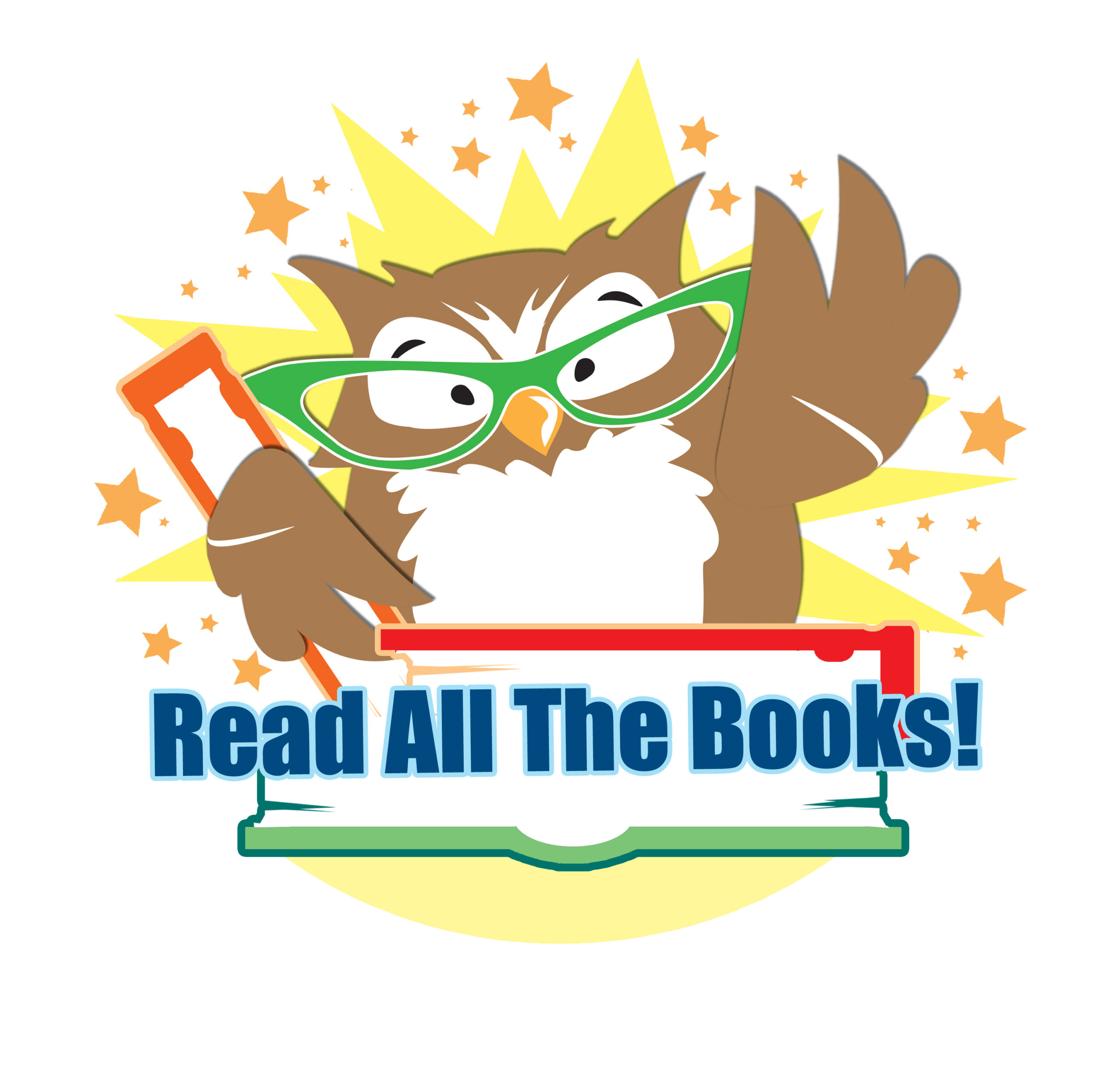 Owl with Read All the Books