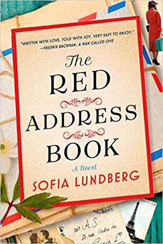 The Red Address Book by Sofia Lundberg book cover