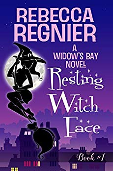 book cover Resting Witch Face by Rebecca Regnier