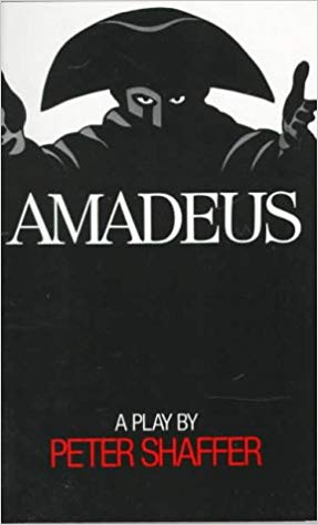 Amadeus  by Peter Shaffer book cover