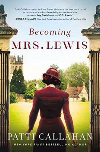 Becoming Mrs. Lewis by Patti Callahan book cover