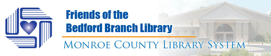 friends of the bedford branch library banner