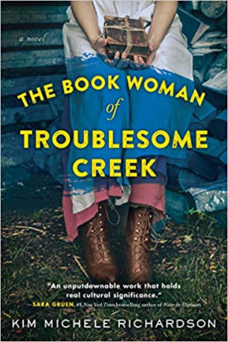 The Book Woman of Troublesome Creek by Kim Michele Richardson book cover