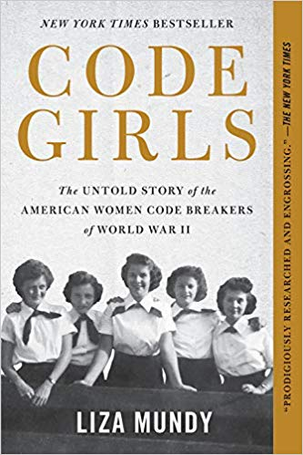The Code Girls  by Liza Mundy book cover