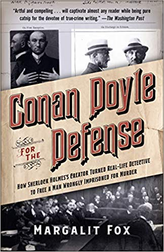 Conan Doyle for the Defense  by Margalit Fox book cover