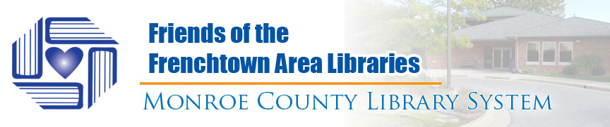 Frenchtown Area Libraries Friends Group banner