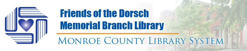 friends of dorsch memorial library banner