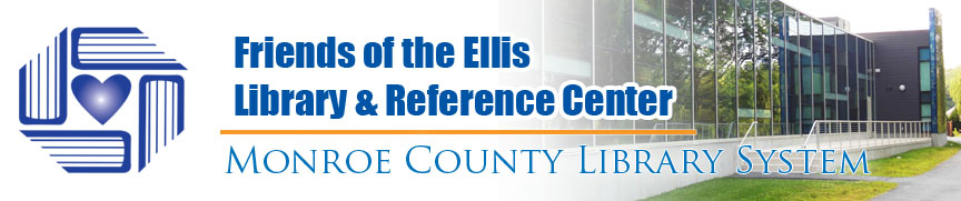 Friends of the Ellis Library and Reference Center banner