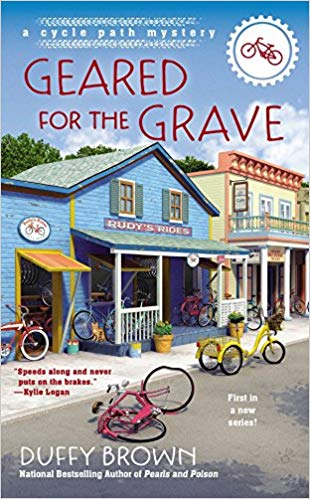 Geared for the Grave by Duffy Brown book cover