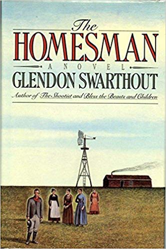 The Homesman  by Glendon Swarthout book cover
