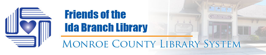 friends of the ida branch library banner
