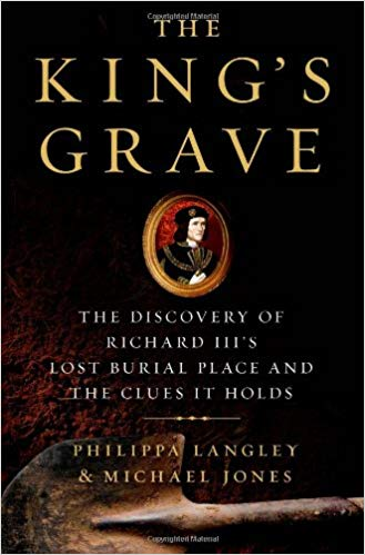 The King's Grave  by Philippa Langley book cover