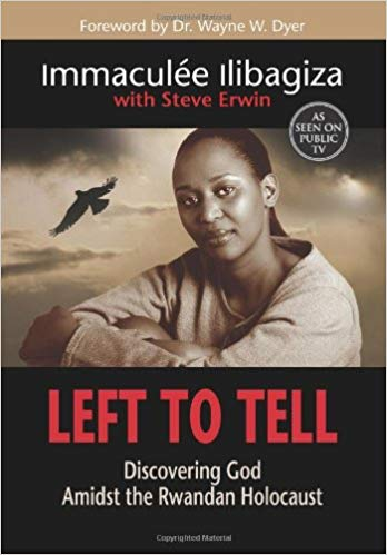 Left to Tell by Immaculee Ilibagiza book cover