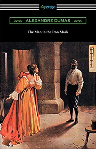 Man in the Iron Mask by Alexandre Dumas book cover