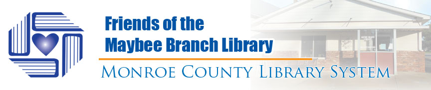 Friends of the Maybee Branch Library Banner