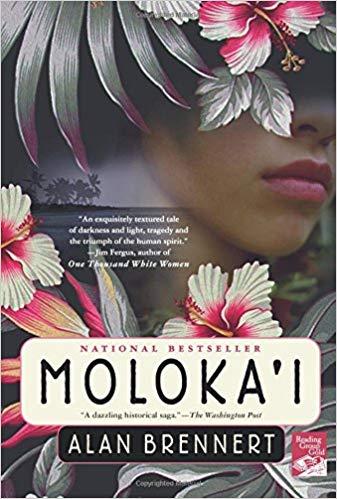 Moloka'i  by Alan Brennert book cover