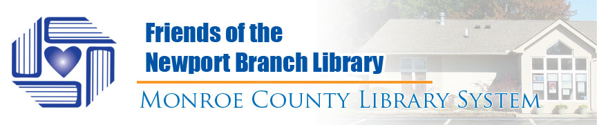 friends of the newport branch library banner