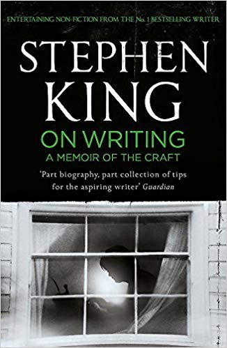 On Writing: A Memoir of the Craft  by Stephen King book cover