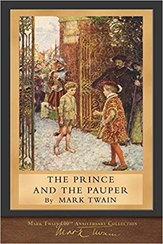 The Prince and the Pauper by Mark Twain book cover