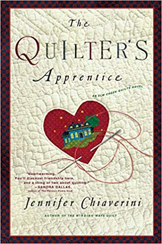 The Quilter's Apprentice  by Jennifer Chiaverini book cover
