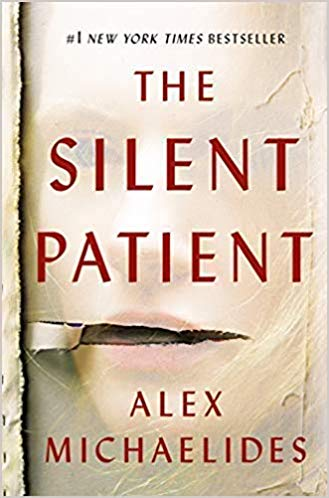 The Silent Patient by Alex Michaelides book cover