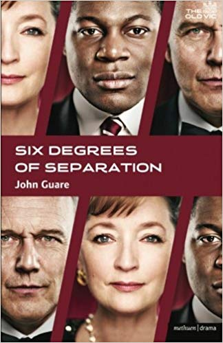 Six Degrees of Separation  by John Guare book cover