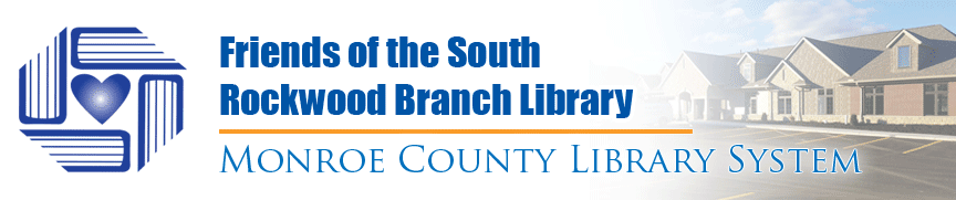 Banner for the friends of the south rockwood branch library