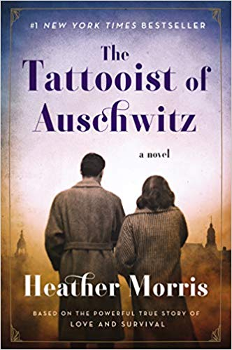 The Tattooist of Auschwitz by Heather Morris book cover