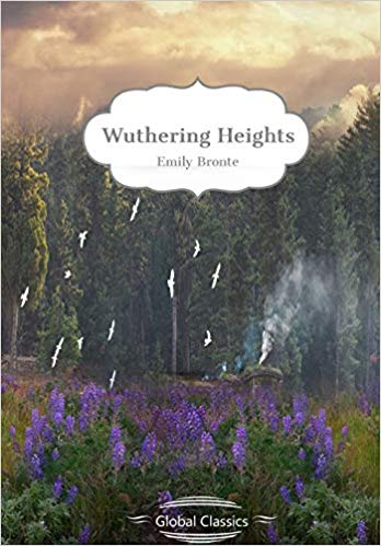 Wuthering Heights by Emily Bronte book cover