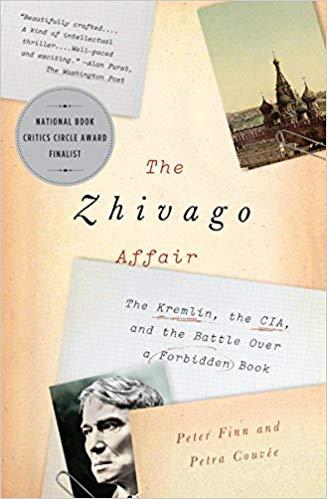 The Zhivago Affair  by Peter Finn book cover
