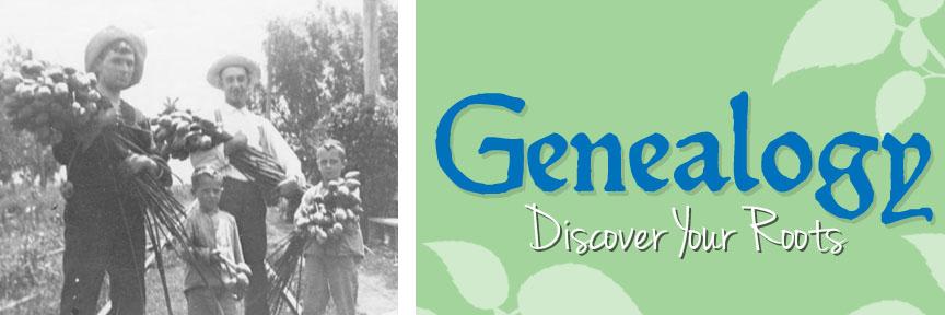Genealogy Banner