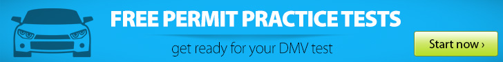 Free permit practice tests banner
