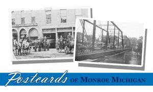 Postcards of Monroe Michigan banner