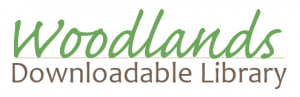 larger version of woodlands downloadable library logo
