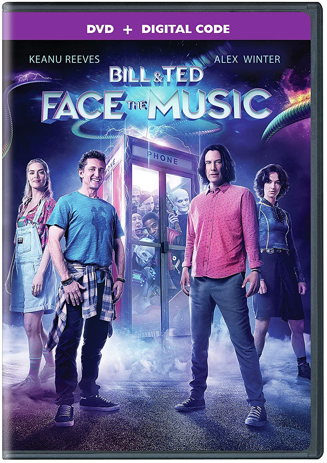 Biil & Ted Face the Music DVD Cover