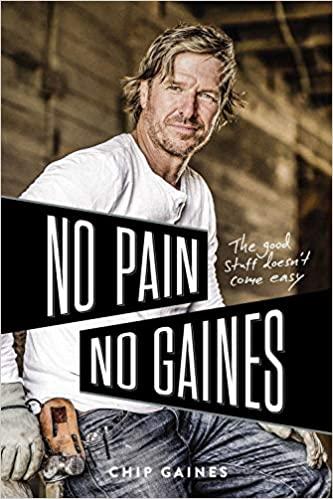 No Pain, No Gaines book club