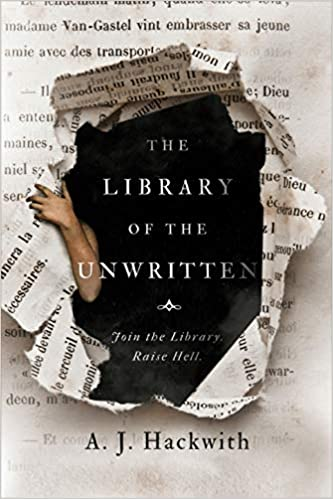 The Library of the Unwritten book club