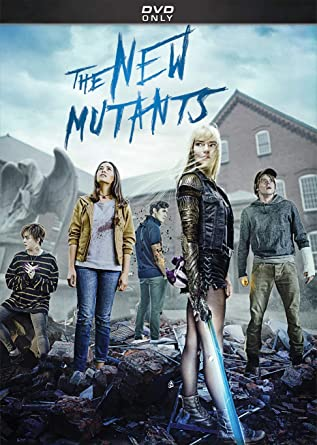 The New Mutants DVD Cover
