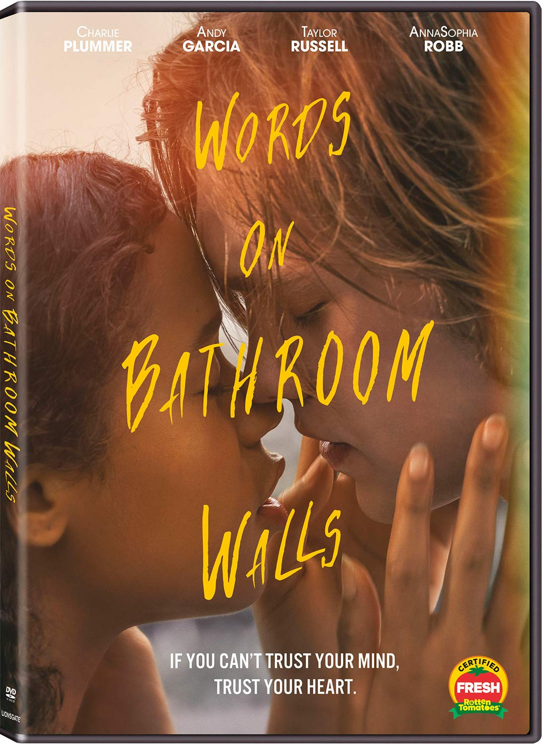 Words on Bathroom Walls DVD Cover