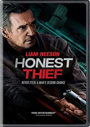 Honest Thief DVD Cover
