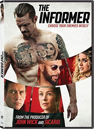 The Informer DVD Cover