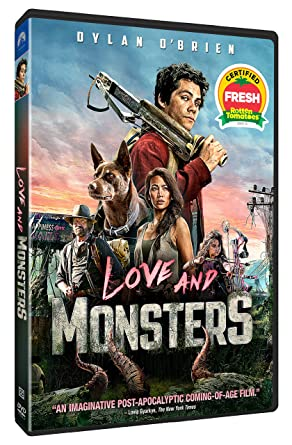 Love and Monssters DVD Cover