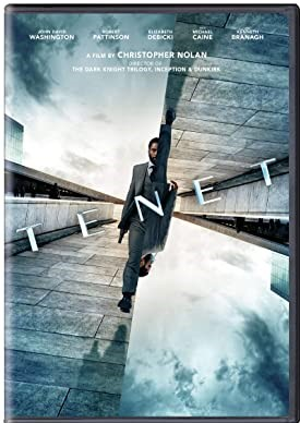 Tenet DVD Cover