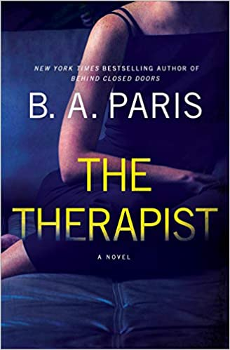 The Therapist book cover