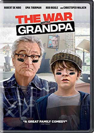 The War With Grandpa DVD Cover