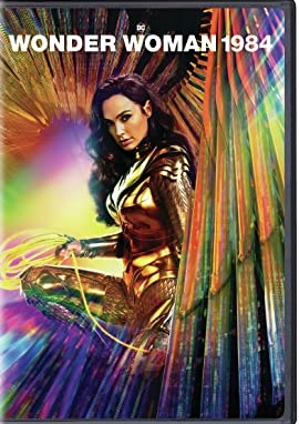Wonder Woman DVD Cover