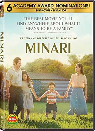 Minari DVD Cover