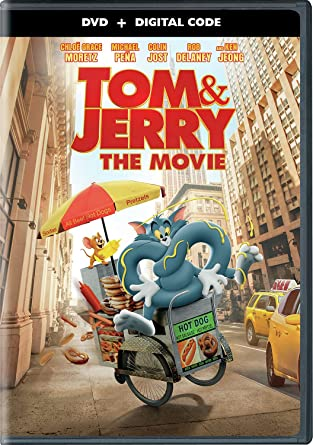 Tom and Jerry DVD Cover