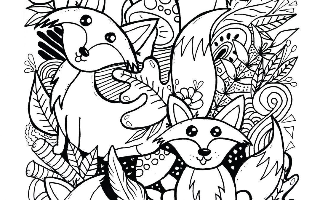 Spring Coloring Contest