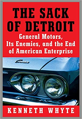 The Sack of Detroit book cover